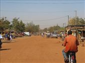 Typical road in Burkina  wide and dusty: by helen_in_africa, Views[231]