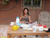 Breakfast on Laetitia's terrace: by helen_in_africa, Views[185]