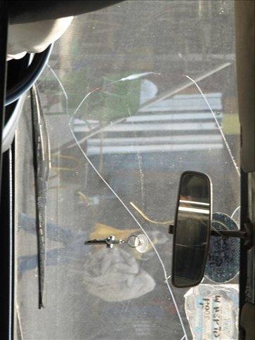 Typical windscreen