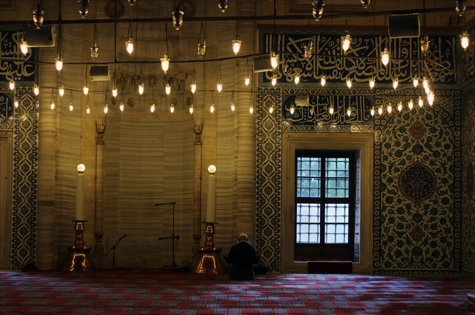Islam is the dominant religion in Turkey.