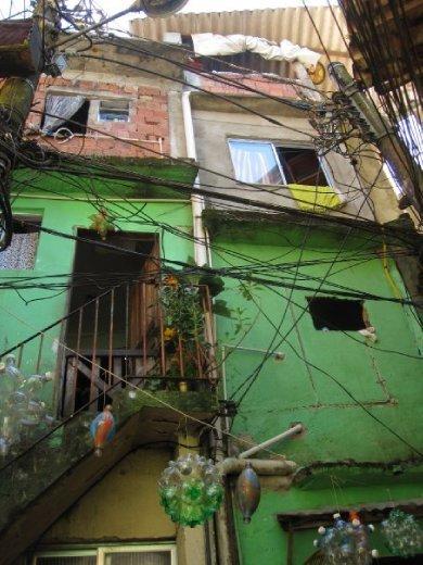 A favela slum - only marginally better than our hoste!!!