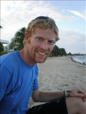 Bracey on the beach in Placencia (dig the dirty 'tash): by hellie_and_bracey, Views[198]