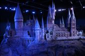 Hogwarts itself! They used this to film when they needed a whole image of Hogwarts from afar.. It was so detailed and quite impressive to look at!: by hethoandstokesyseuropeanadventure, Views[115]