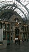 Antwerp Central Station -known for being one of the most spectacular stations in the world!: by hethoandstokesyseuropeanadventure, Views[142]