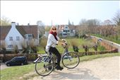 Our bike ride through brugge. . This was our favourite day so far.. the sun helps!: by hethoandstokesyseuropeanadventure, Views[121]
