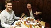 Our first meal in Ulm.. delicious pork knuckle!!!: by hethoandstokesyseuropeanadventure, Views[118]