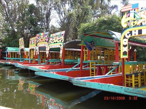 Boat Trip in Xochimilco