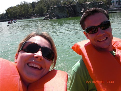 On the Canyon boat trip