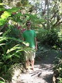 Steven in all the tropical greenery at our hotel: by heywoods1976, Views[308]