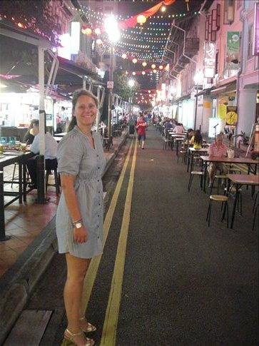 Nicola in China Town