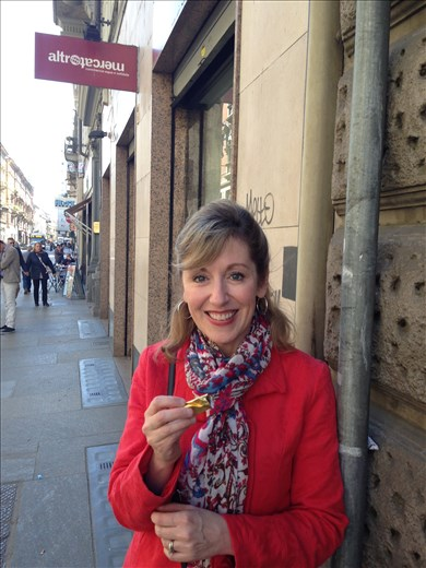 Torino's famous hazelnut chocolate