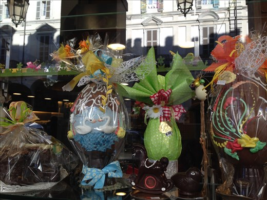 Easter chocolate in Torino