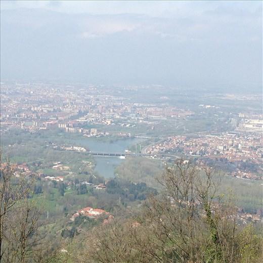 View over Torino