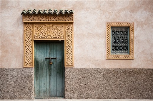 Marrakesh is a city where you can find an amazing architectural sights. Marrakesh houses has a beauty of its own !