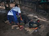 Frying fish in Kisumu - on the shores of Lake Victoria: by hnmenk, Views[396]