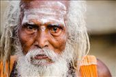 A portrait of a Sādhu at the Annamalaiyar Temple in Tamil Nadu, India.  The composition in this portrait is quite a tight crop as this Sādhu's weathered face and tired eyes said it all. The age-old saying 'the eyes are the window to the soul' definitely ring true in this frame. I see so much innocence and kindness in this old man's eyes.: by holymen, Views[1688]