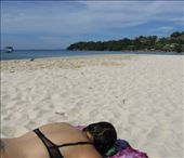 Laurina fulfilling long held dreams to lay on an Cambodian beach in her underwear.: by homeless_harry, Views[1589]