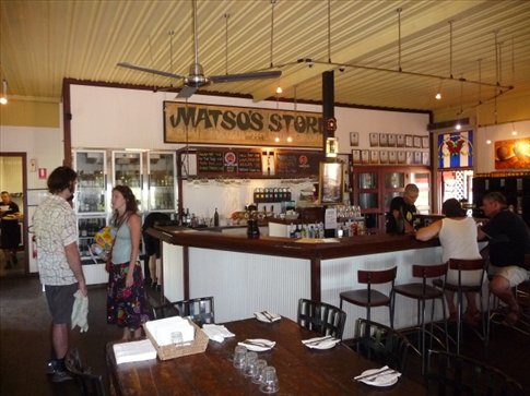 The front bar of Matso's that looks a lot more presentable than my kitchen prep area