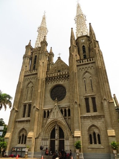 The thoughtfully named Jakarta Cathedral