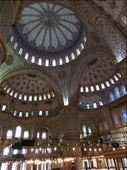 Not a whole lot of blue going on inside the Blue Mosque: by homeless_harry, Views[117]