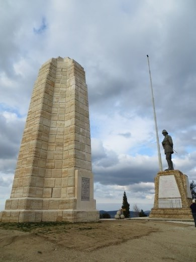 The Chunuk Bair memorial to kiwis and Mustafa Kemal
