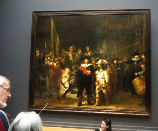 Rembrandts masterpiece 'The Nightwatch'