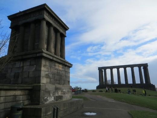 Scotland pretending it was once Rome.