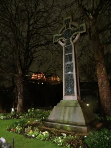 My last photo of Edinburgh is almost my favourite.