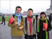 In Tiananmen Square with our new friend steve.: by homeless_harry, Views[653]