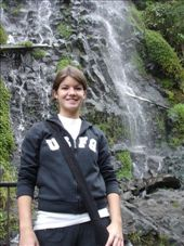 Me in front of one of Baños' many waterfalls.: by homersmuse, Views[352]