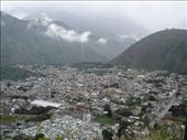 View of Baños from the mirador.: by homersmuse, Views[366]