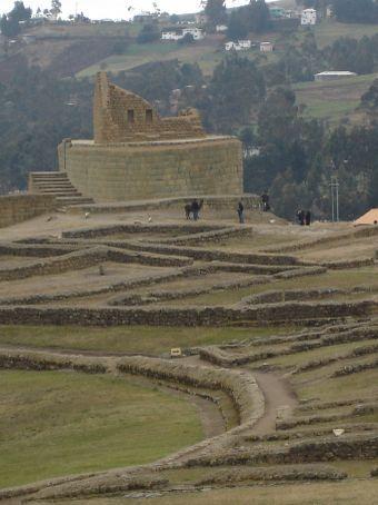 Inca Pirca, Ecuador's premiere ruins site.