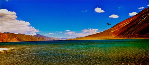 Pangong Lake - Pride of Ladakh