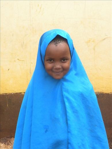 precious muslim girl in my class