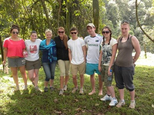 the motley crew- my volunteer family