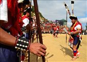 The Sumis assemble before they leave for hunt: by hornbill_festival, Views[146]