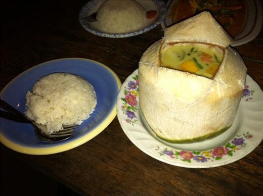 Coconut  Curry... Delicious!!