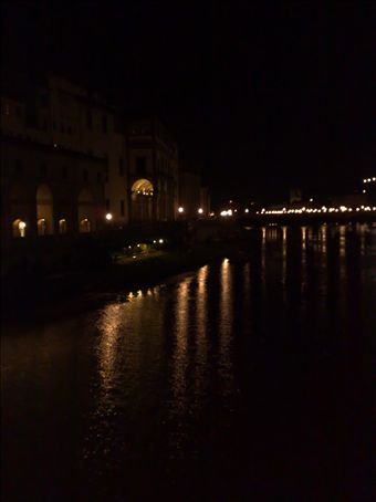 white nights on river arno