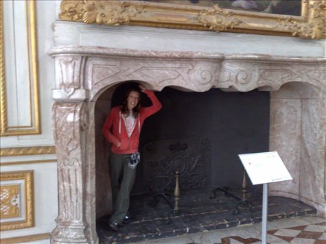 What a big fire place you have!