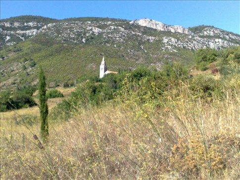 church above our campsite, Vis, Croatia