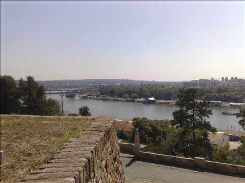 Another view of river from same Belgrade fortress ( can you tell we were not there that long?)