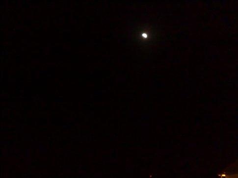 lunar eclipse in Sigshoara