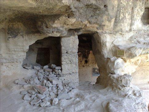 cave monestary outside of varna