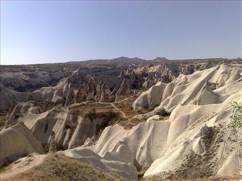on to central Turkey-Cappadocia land of fairy chimneys