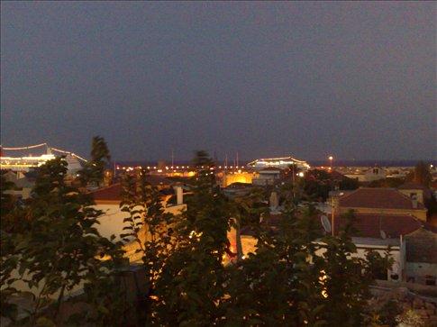 Rhodes at night.