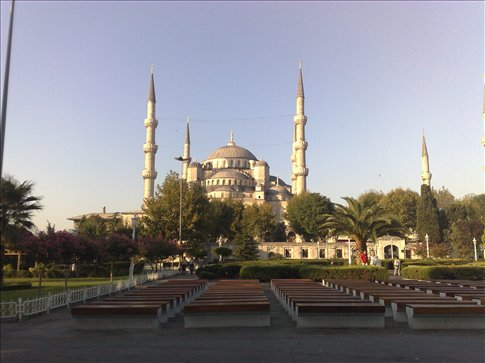 The famous Blue Mosque, Istanbul