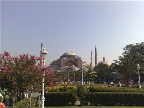 The famous Aye Sofia, opposit the Blue Mosque, Istanbul