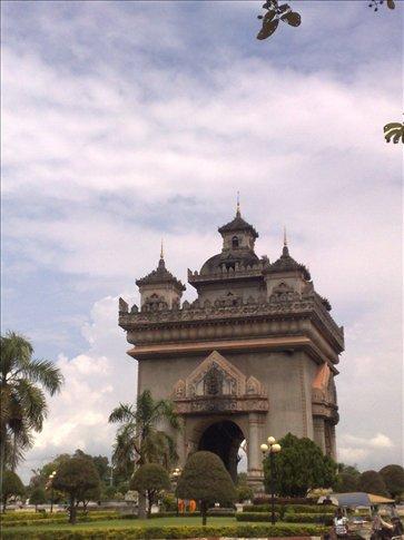 Laos version of Arc d' Triumph!