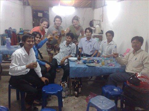 Laos college students