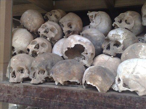 more memorial at Killing Fields